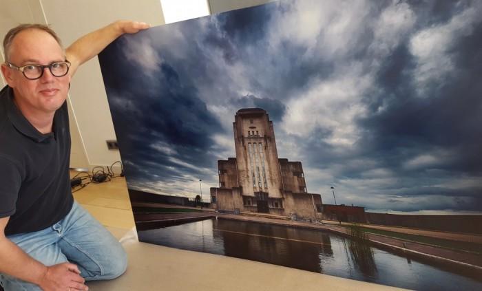 Grote print op dibond 100x150cm